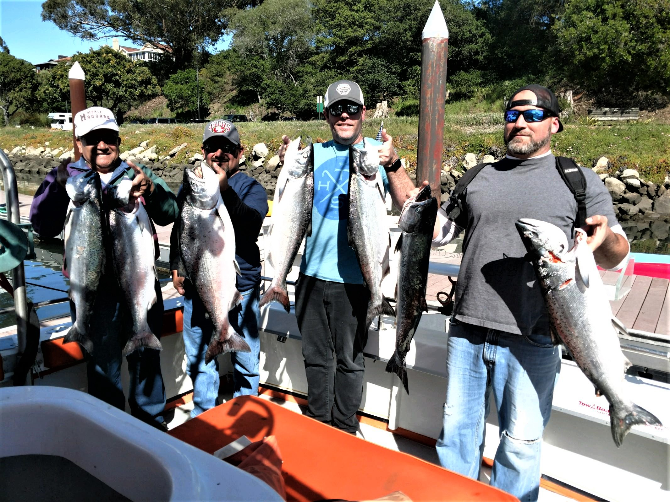 Salmon Fishing, Santa Cruz - Go Fish Santa Cruz Charters
