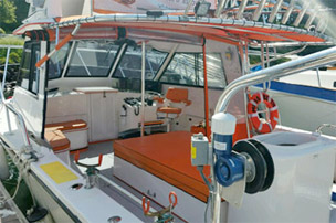Fishing Boat Interior